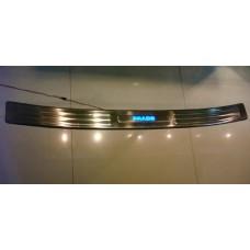 Накладка на задний бампер LED на LAND CRUISER PRADO 120