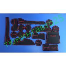 Коврики для салона на Land Cruiser Prado 150 08-17