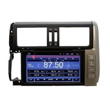 Штатная магнитола на Land Cruiser Prado 150 08-13 windows