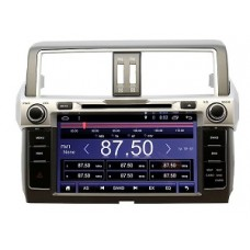 Штатная магнитола на Land Cruiser Prado 150 13-17 Android