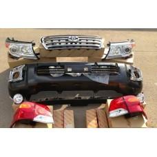Комплект Рестайлинга на Toyota Land Cruiser 200 08-12 в 12-15