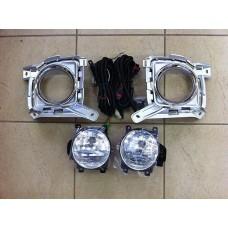 Противотуманные фары рестайлинг комплект Toyota LAND Cruiser 12-15