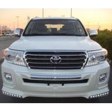 Обвес передний Urban Sport LED на Toyota LAND Cruiser 200 12-15