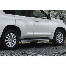 Защита порогов на Toyota LAND Cruiser Prado 150