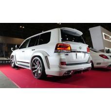 Спойлер под стекло WALD на Toyota LAND Cruiser 200